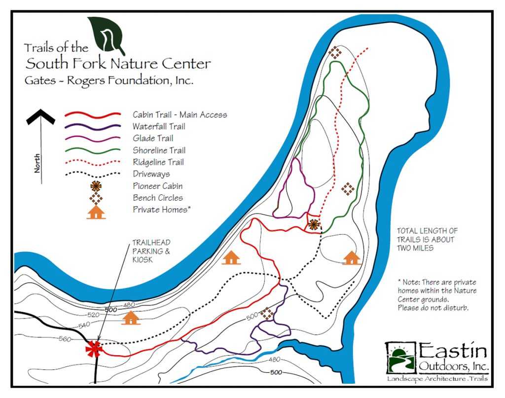 South Fork Nature Center Map