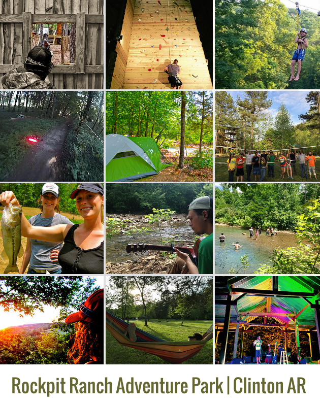 Rockpit Ranch Adventure Park, Clinton AR